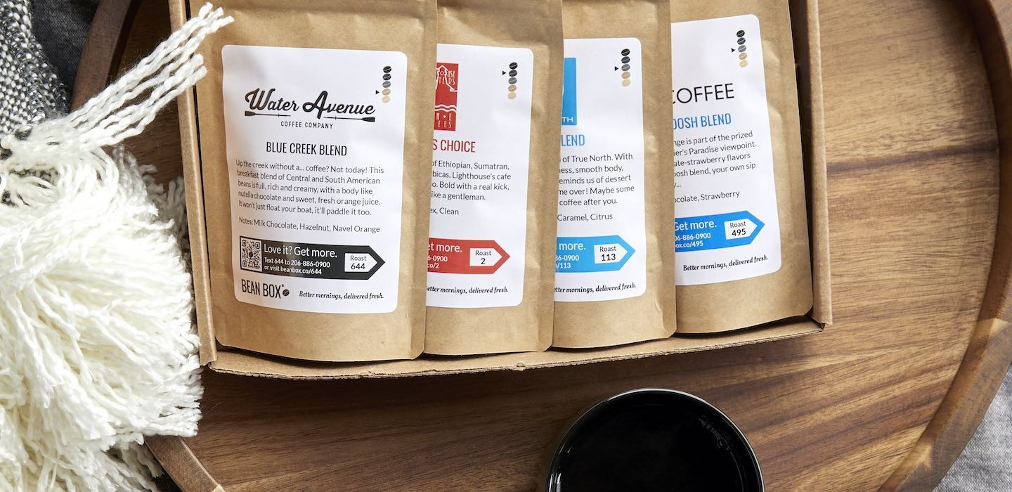 Bean Box Coffee Gifts and Coffee Subscriptions