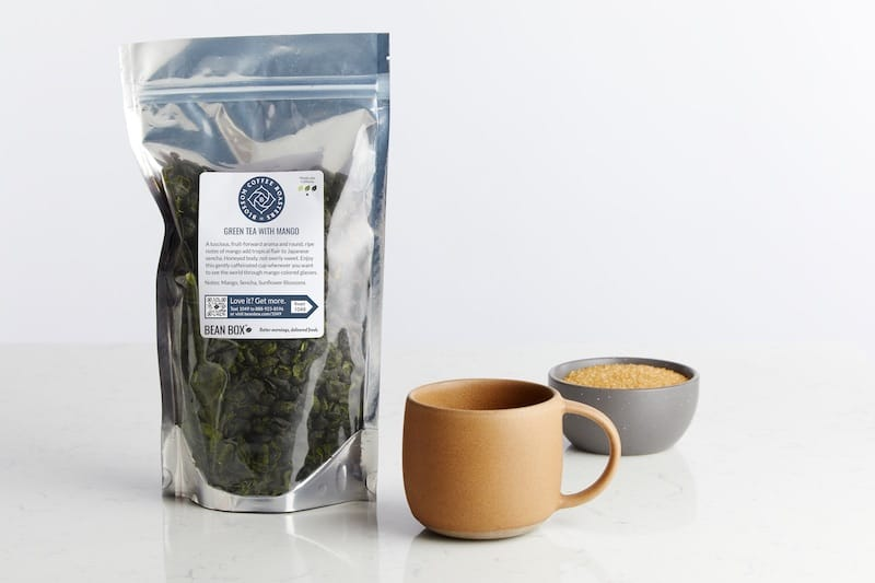 Green Tea with Mango by Blossom Coffee Roasters