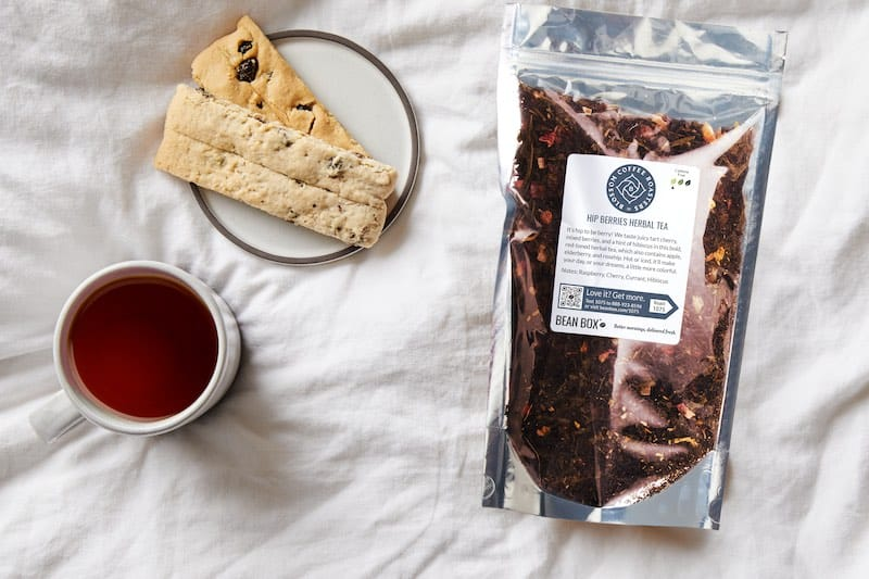 Hip Berries Tea by Blossom Coffee Roasters
