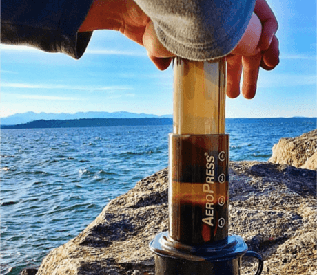 Brew Coffee Outdoors Or Camping