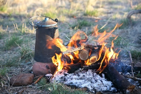Photo By The Golden State If You Ever Wanted To Be A Cowboy Now Is Time Live Out That Dream Brewing Your Coffee Way Cowboys Did Fireside